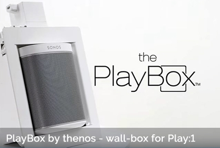 Thenos Playbox In Wall Amp In Ceiling Solution For Sonos