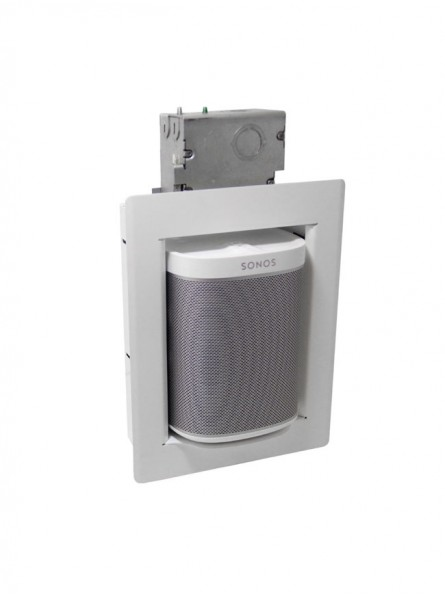 Thenos PlayBox COM, Metal Clad Wall-Box for Sonos Play:1/One (ea)