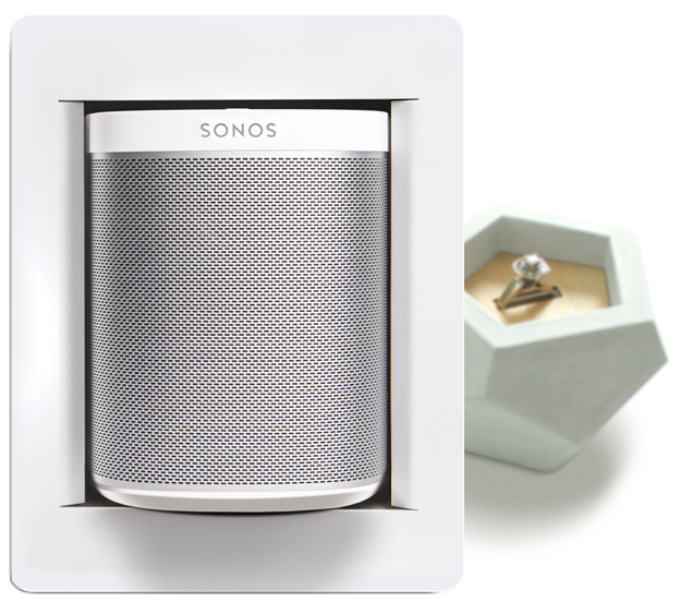 thenos makers of the playbox rh thenos us Sonos Speakers Amp 4 Outlets in Walls